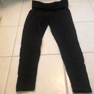 Pink by Victoria's Secret foldover yoga pants